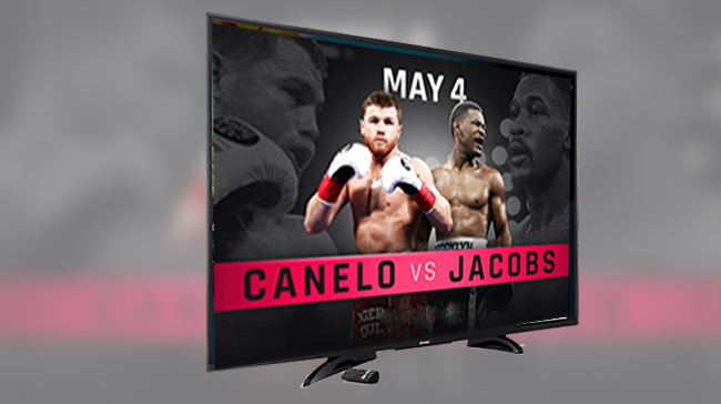 How to Watch Jacobs vs Canelo Roku
