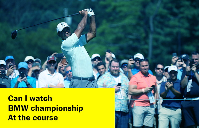how to BMW Championship at the course
