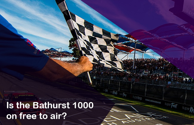 Bathurst 1000 live on free to air